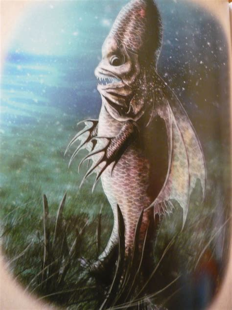 magical gains  bishop fish fact  weird fiction