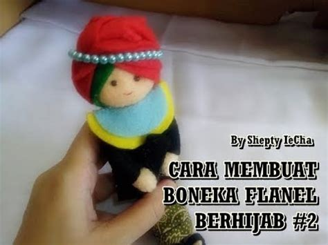 Boneka Wisuda Dari Flanel cara membuat boneka wisuda berhijab dari kain flanel model