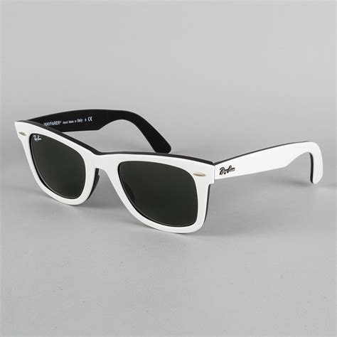 black and white ray ban wayfarers ray ban sunglasses black white