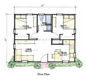 two bedroom 500 sq ft house plans google search cabin