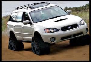 Subaru Tracks Subaru Legacy Outback Wagon On Tracks Subaru