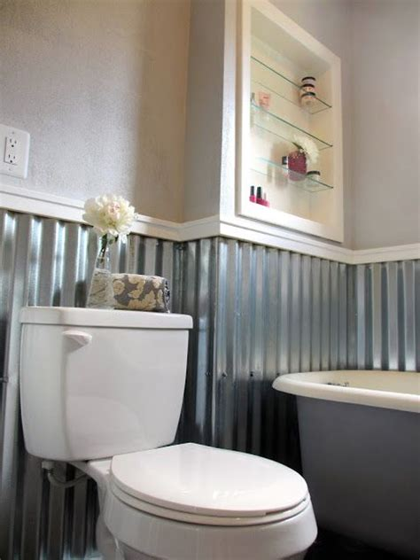 corrugated metal bathroom from the desk of kate jones june 2015 quot chipotle bathroom