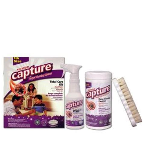upholstery cleaner home depot capture 1 lb carpet and upholstery cleaner kit 6 pack