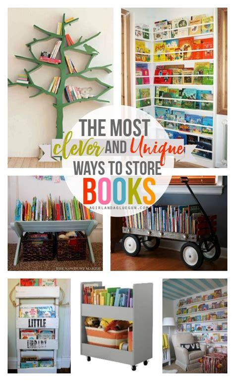 book storage ideas 1000 ideas about bookshelf storage on storage