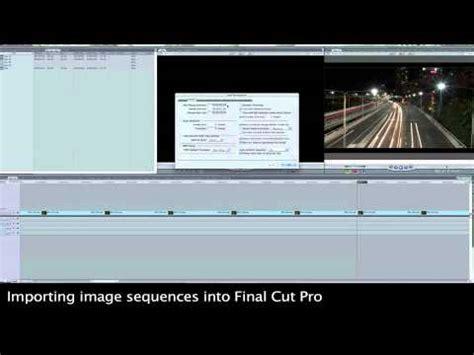 final cut pro time lapse final cut pro import time lapse youtube
