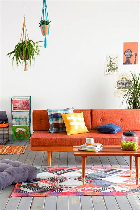 las claves  decorar  living de inspiracion retro