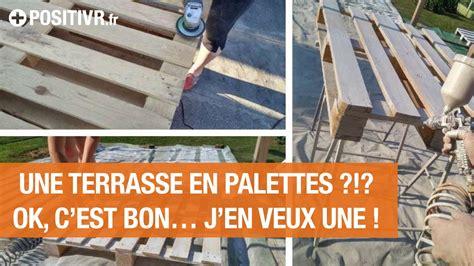 Faire Une Terrasse A Moindre Cout 4108 by Terrasse En Palette Ma Terrasse