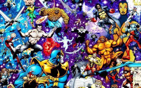 marvel universe marvel universe wallpapers wallpaper cave