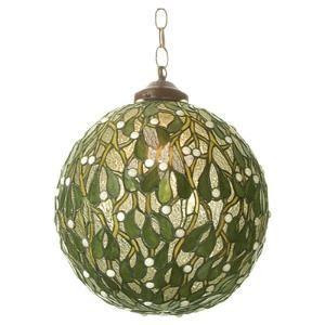 mistletoe lights mistletoe pendant light