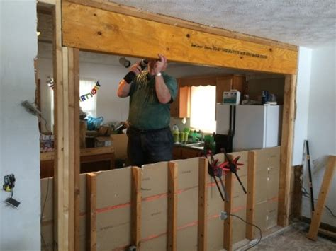 load bearing wall beam in attic how to remove a wall load bearing or not and install a