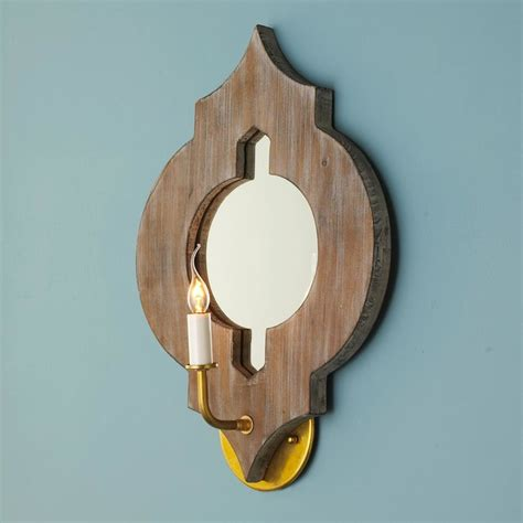 Moroccan Wall Sconce Moroccan Medallion Mirror Sconce Wall Sconces By Shades Of Light