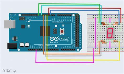 arduino tutorial 7 segment display interface a seven segment display to an arduino