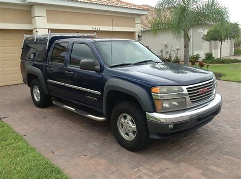 auto air conditioning service 2004 gmc canyon lane departure warning purchase used 2004 gmc canyon sle crew cab pickup 4 door 3 5l great condition in venice