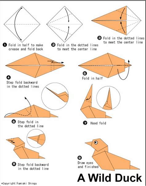 Paper Animals Origami - best 25 easy origami animals ideas on