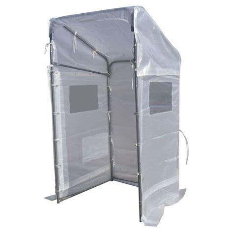 abri pour escalier exterieur 2147 abri portique pour l hiver 4 x 4 blanc rona