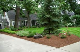 landscape low maintenance ideas for front of house door
