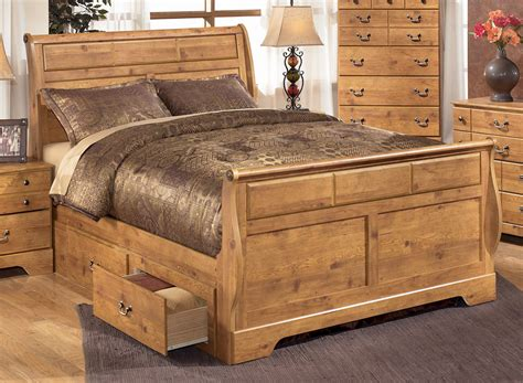 bittersweet king size sleigh bed by signature design