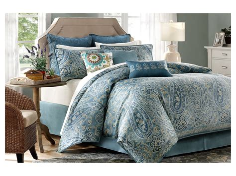 bedding set king harbor house belcourt 4 piece comforter set cal king