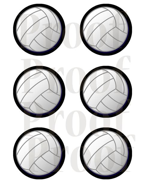 printable volleyball gift tags 3 inch printable volleyball tags or labels black outline