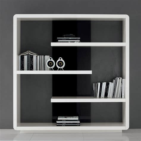 surface bookcase modern bookcases other metro