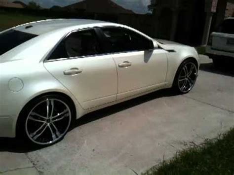 Cadillac On 22s by Cadillac Cts On 22s Pt 2