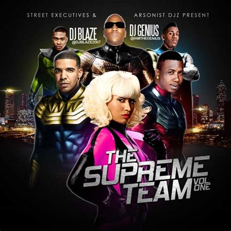 supreme team dj blaze dj genius the supreme team vol 1