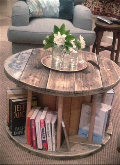 cable reel table diy wooden cable drum furniture ideas 99 pallets