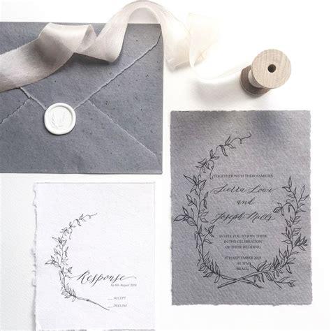 combossa wedding invitations best 25 handmade wedding invitations ideas on