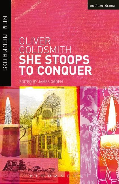 themes in the book she stoops to conquer she stoops to conquer new mermaids oliver goldsmith