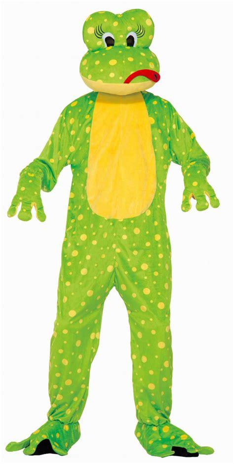 frog mascot freddy frog costume animal related