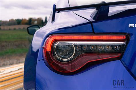 subaru brz lights review 2017 subaru brz sport tech canadian auto review