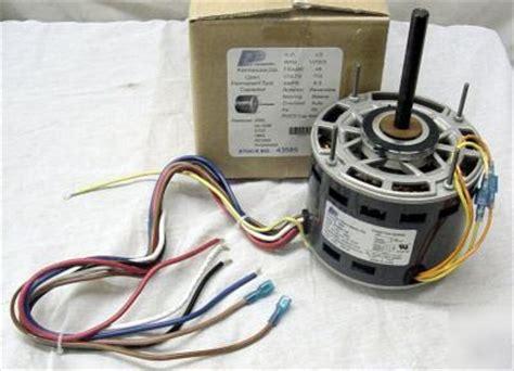 1 3 hp 1075 115 v 3 speed furnace blower fan motor 3585