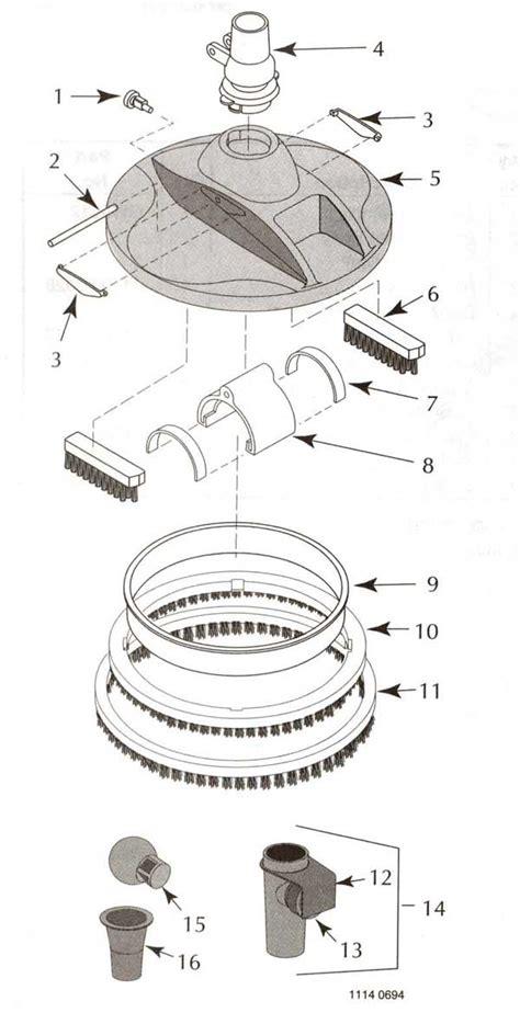 sta rite pool parts diagram sta rite great white pool cleaner parts diagram