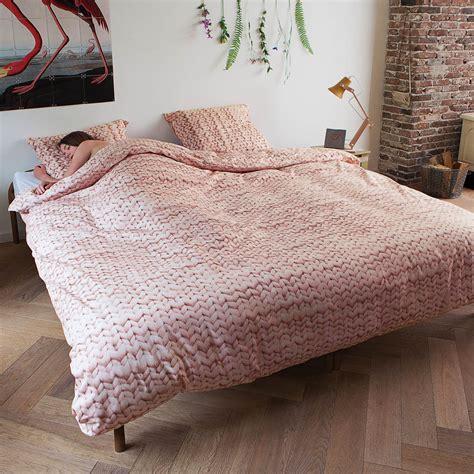 snurk bedding snurk bed linen set twirre pink