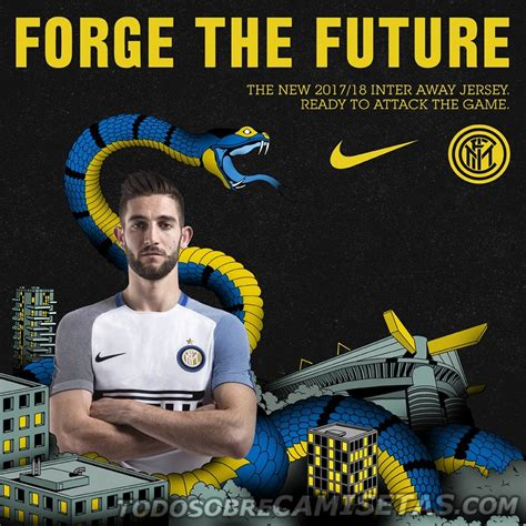 Intermilan Away 2017 inter milan 2017 18 nike away kit todo sobre camisetas