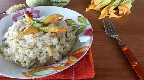 riso fiori di zucca risotto con fiori di zucca e zucchine