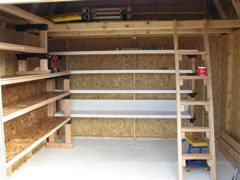 Shelf Building by Building Storage Shelves And Stair Stroovi