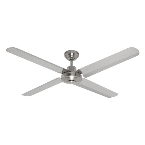 chrome ceiling fan with remote eco motion dc ceiling fan with remote brushed chrome 52