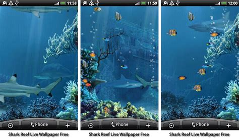 the best live wallpapers best aquarium and fish live wallpapers for android