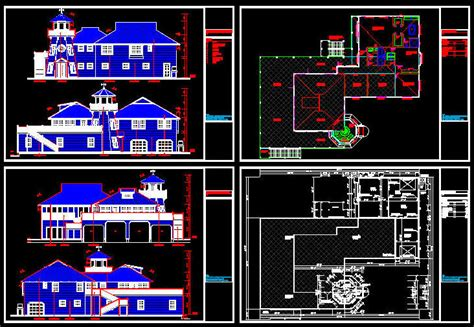 Cad Building Template Us House Plans House Type 2 Free Building Plans In Autocad Format