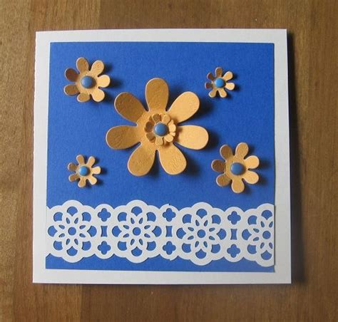 Pre Punched Paper For Crafts - punch flowers cd envelope by carolynn cards