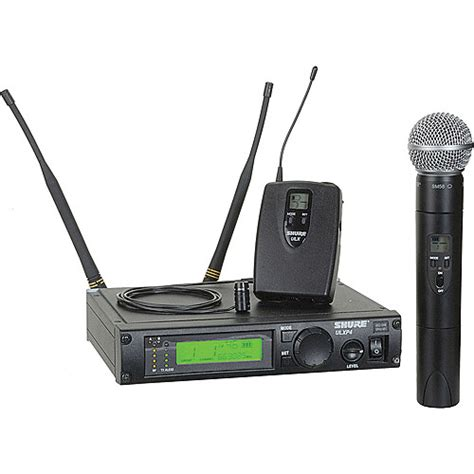 Mic Wireless Shure Ulx 4 B shure ulx series single channel wireless ulxp124 85 j1 b h