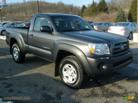2010 Toyota Tacoma Regular Cab 2010 Toyota Tacoma Regular Cab 4x4 In Magnetic Gray
