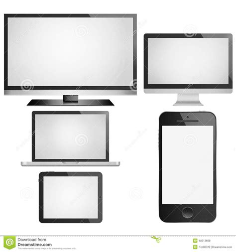 How To Make A Paper Touch Screen Phone - isolated paper cut of tablet smart tv phone mobile