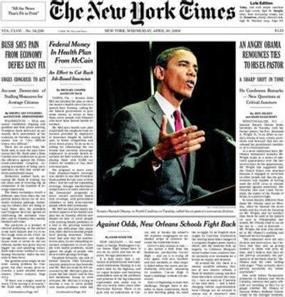 new york times obama the paper of disrespect boker tov boulder