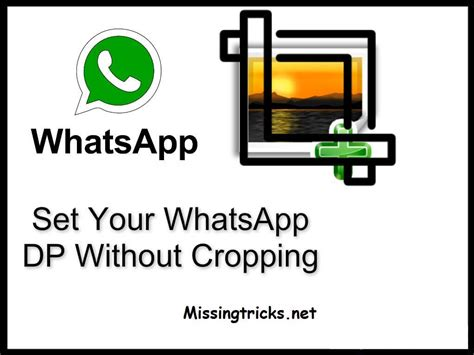 whts app profile set full size profile picture on whatsapp without crop