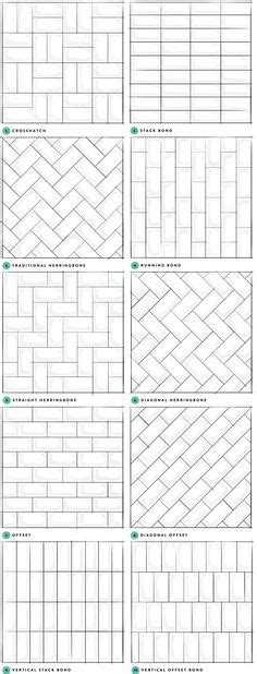 sick of subway tile 7 different patterns to freshen up greige interior design ideas and inspiration for the
