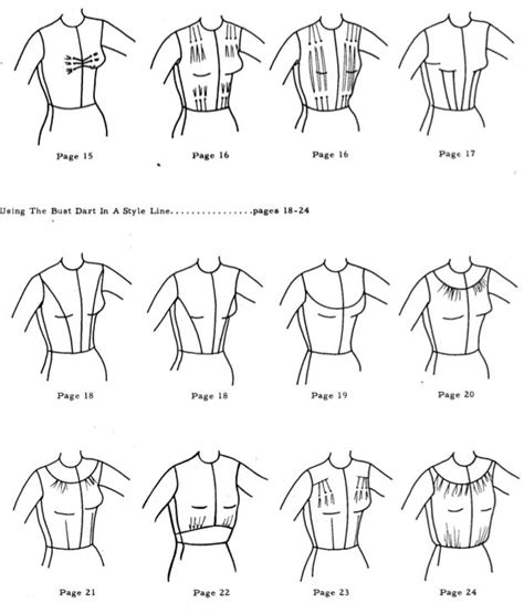 pattern drafting yokes 72 best images about pences darts on pinterest dior