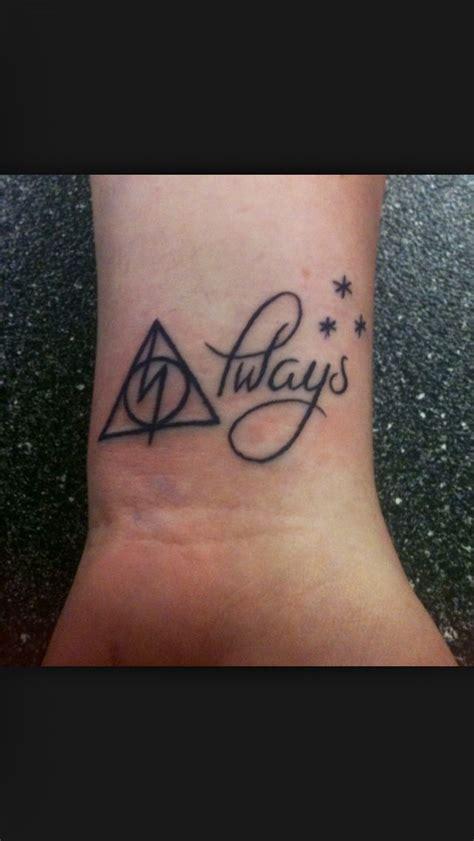 where did they get rollos tattoo from always harry potter tattoo tattoo ideas pinterest