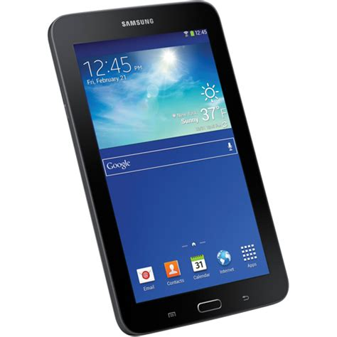 Samsung Tab 3 7 8gb samsung sm t110nykaxar 7 quot galaxy tab 3 lite 8gb tablet with ultra slim and 16 gb micro sd